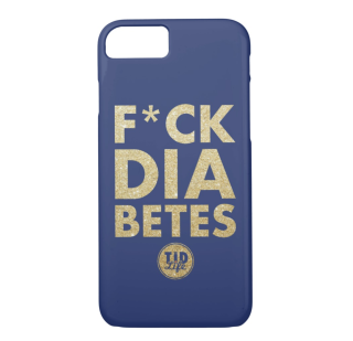 T1dLife-Fckdiabetes-iPhone8-7-case